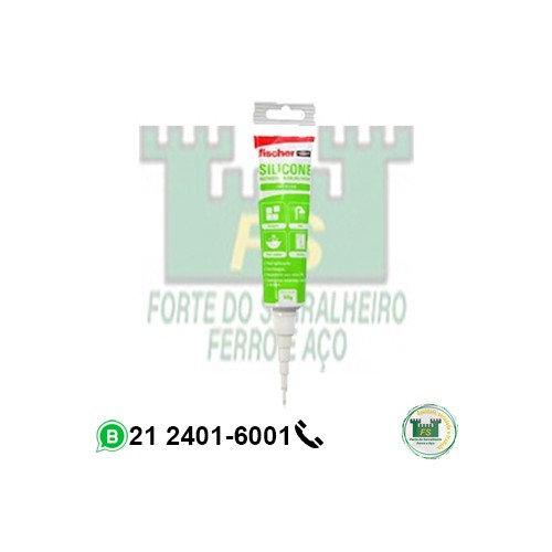 Silicone  50g incolor Fischer